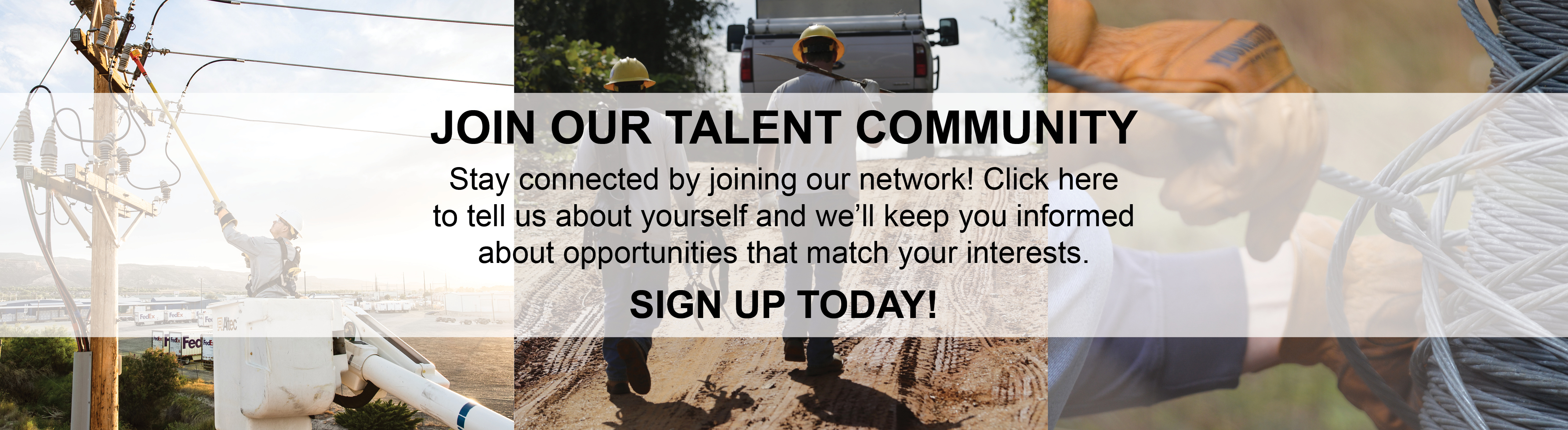 Link to form to join talent network